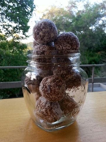 Paleo Protein & Cranberry Balls